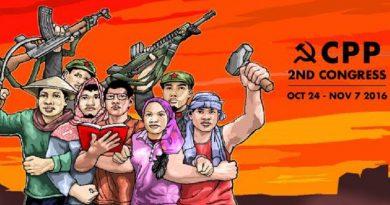 بلاغ عن المؤتمر الثاني للحزب الشيوعي الفليبيني