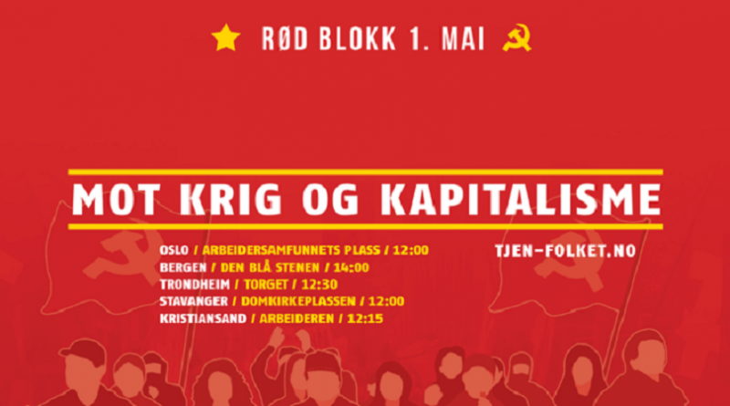 Norway: Red Block for the 1st May 2017