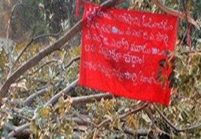 India: Maoists writings appear in Tadwai
