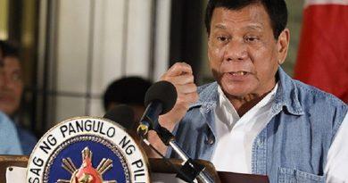 Sobre el fin de las conversaciones de paz del GRP en medio de la ampliación de la ley marcial