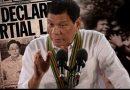 Sobre el plan para extender la ley marcial en Mindanao hasta finales de año
