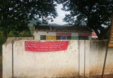 Maoist Posters Appear Again In Narayanpatna Ahead Of Martyr's Week