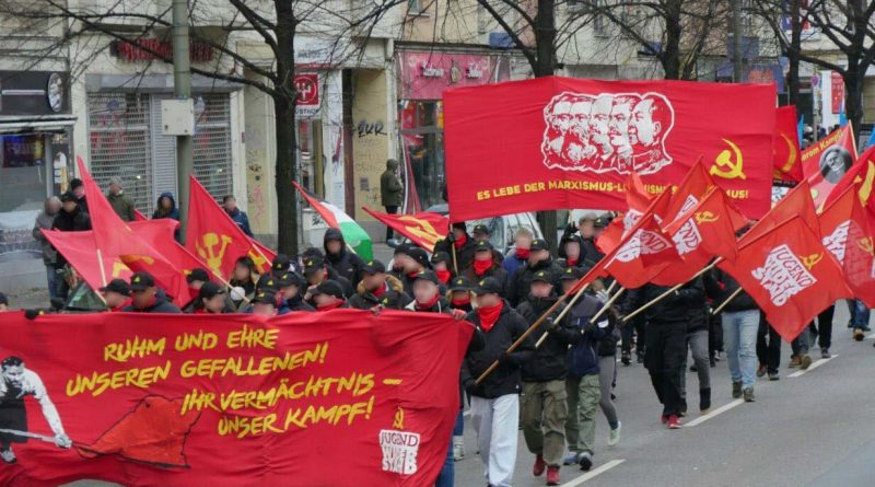 Internationalist MLM bloc marches in Berlin in memory of Rosa Luxemburg and Karl Liebknecht