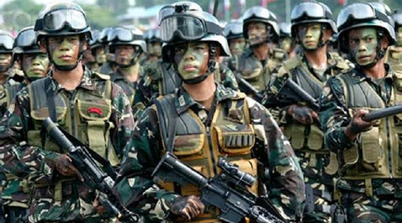 """菲军队针对新人民军的""""清剿队""""表示支持"""