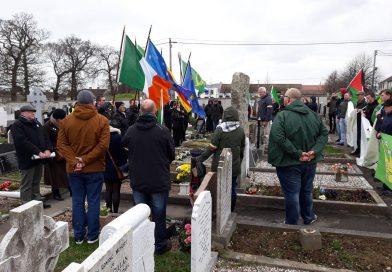 Gedenken an den Osteraufstand 1916 in Bray