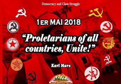 1er Mai 2018 – Déclaration Conjointe des Parties et Organisations MLM