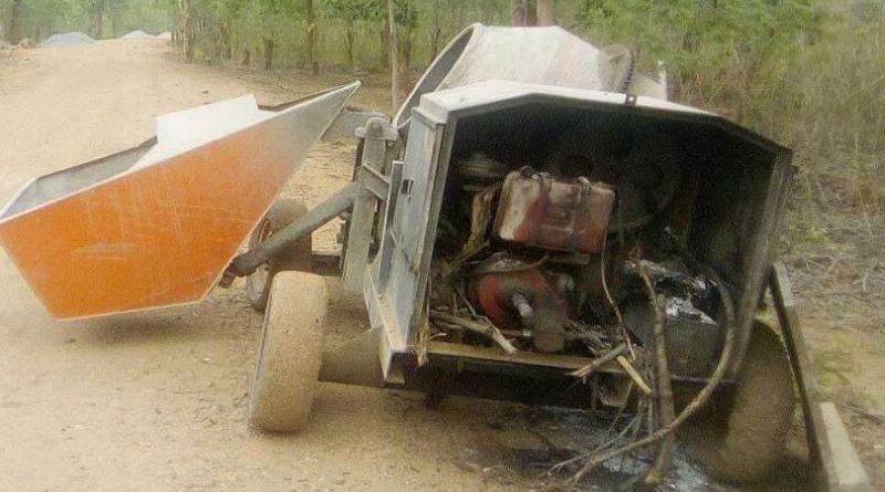 Maöisten roepen op voor een Bandh op 4 juni en vallen een bouwplaats aan in Nuapada