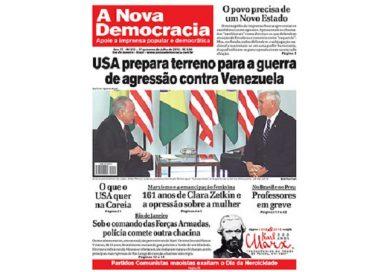 A Nova Democracia nº 212, Editorial: Los yanquis incluyen Brasil en su plan de invasión a Venezuela