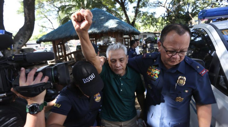 NDFP condemns arrests of Vicente Ladlad and other peace consultants