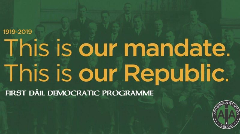 'This is Our Mandate- This is Our Republic' Major Socialist Republican Campaign Launched