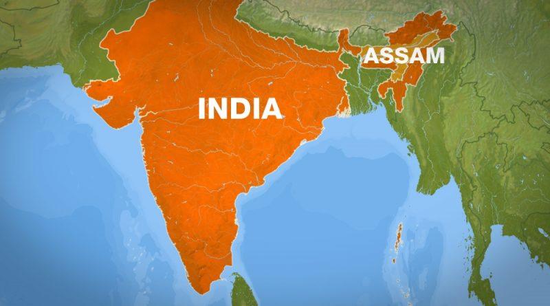 关于印共(毛)在阿萨姆邦建立新基地的报道