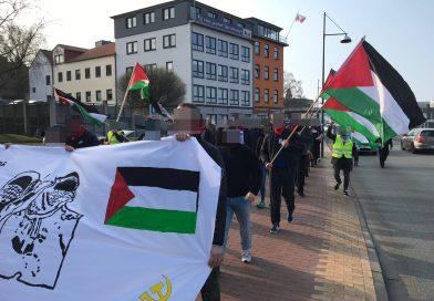 弗伦斯堡:巴勒斯坦人民的成功抗议