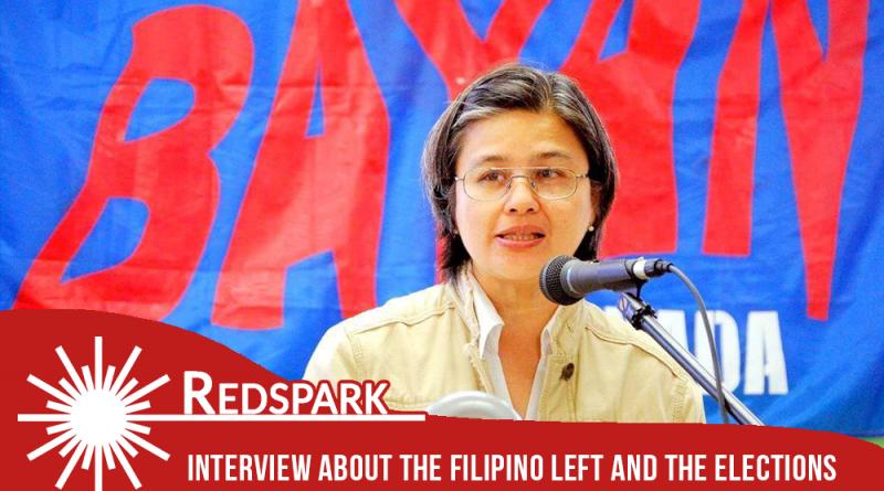 Redspark интервью #4 : Левые и выборы на Филиппинах