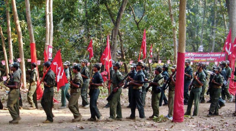 Cadres Of CPI Maoist Stage Demonstration In Kannur District
