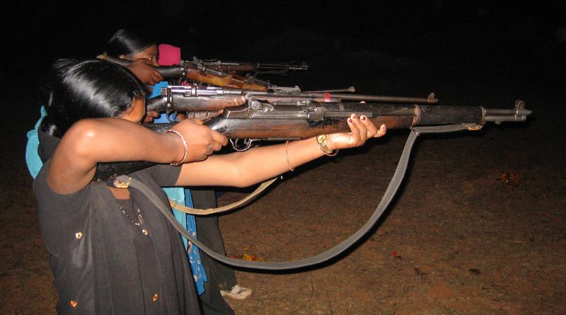 Cadres Of CPI Maoist And District Police Exchange Gunfire In Malkangiri