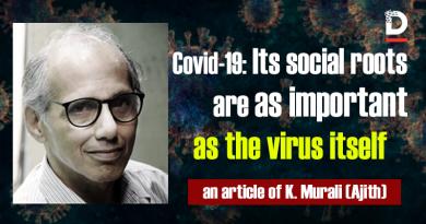 ریشههای اجتماعی کووید- 19، به اندازۀ خود [بیماری و] ویروس [کرونا] مهم است