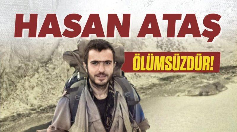 一名土耳其工农解放军的游击队战士在德西姆与宪兵的冲突中牺牲
