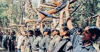 Hindistan'da HKP (Maoist)'in örgütlediği mitinge 10 bin kişi katıldı