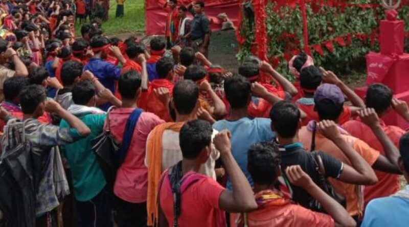 Hundreds Attend CPI Maoist Foundation Day Rally In Bastar District