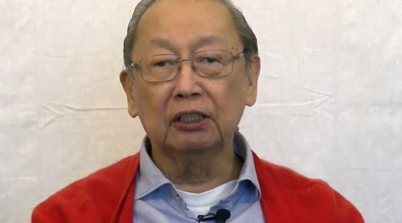 Joma Sison: Whichever Candidates Win, Conditions Will Worsen And Favor The Revolution